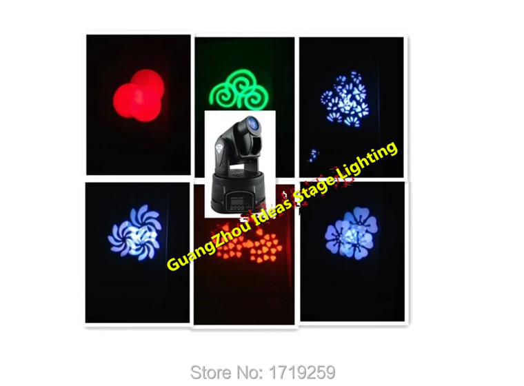 8pcs/lot Fast Shipping 5/13 Channels RGB 15W LED Moving Head Light Spot Light Free Shipping(China (Mainland))