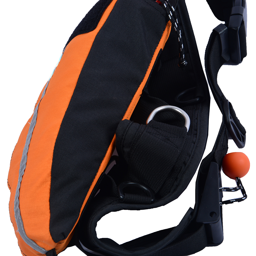 RESCUE PADDED BAG THROW LINE ROPE COMPACT FOR LIFEVEST POCKET