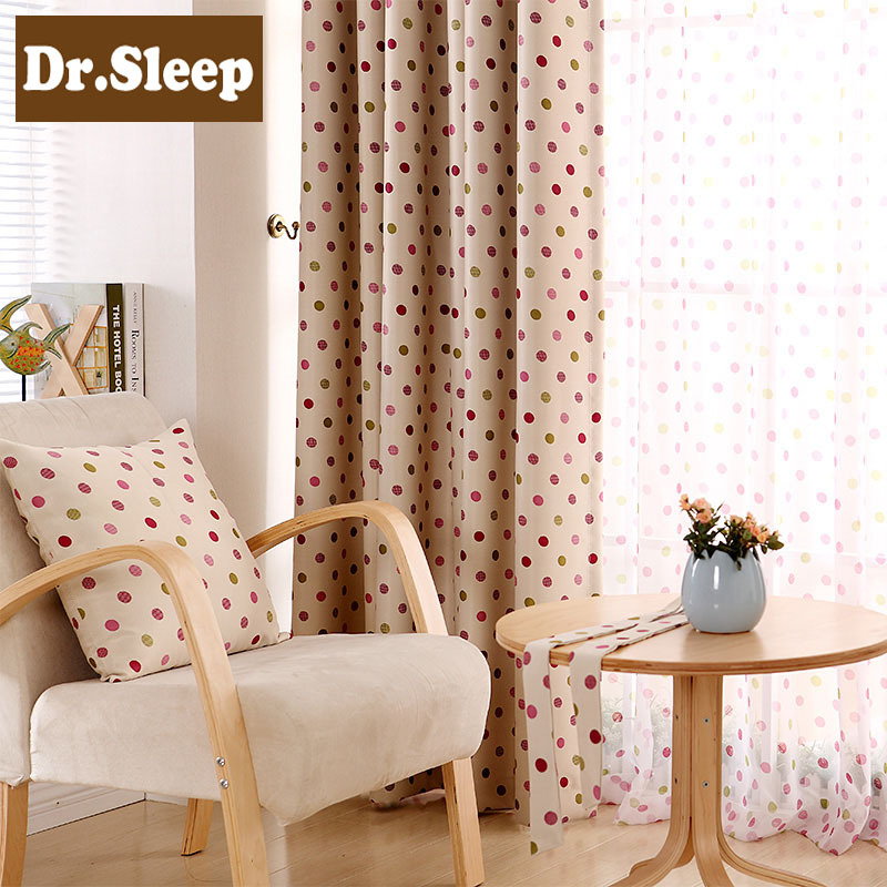 Buy Curtain Fabric Finished Product Modern Brief Curtain Macaron Curtains For
