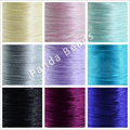 1mm 100yards roll Nylon Thread Round Cord for Chinese Knot Macrame Making Jewelry Crafted DIY Design