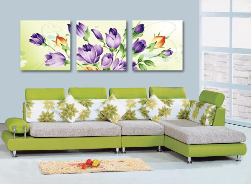 3 Pcs (No Frame) beauty rose Wall Art Picture Modern Home Decor Living Room Canvas Print Painting Wall picture RM-ZH-165