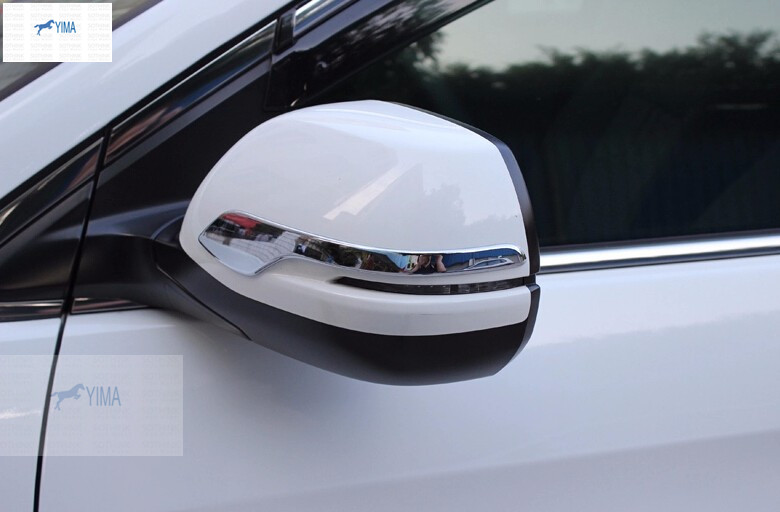 accessories For Honda CRV CR-V 2015 ABS Side Door Rearview Mirrors Stripe Cover Trim<br><br>Aliexpress