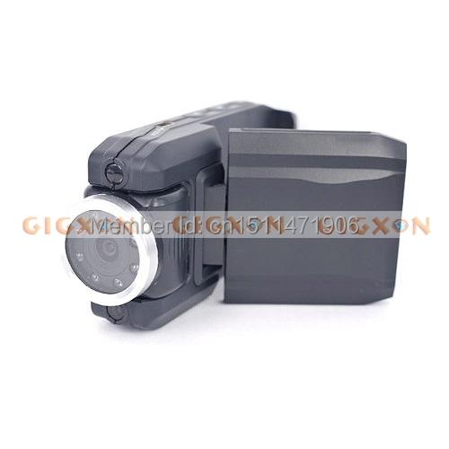 Автомобильный видеорегистратор обзор HD камера GPS 3D датчика транспортного средства черный ящик с двумя объективами фотоаппарат