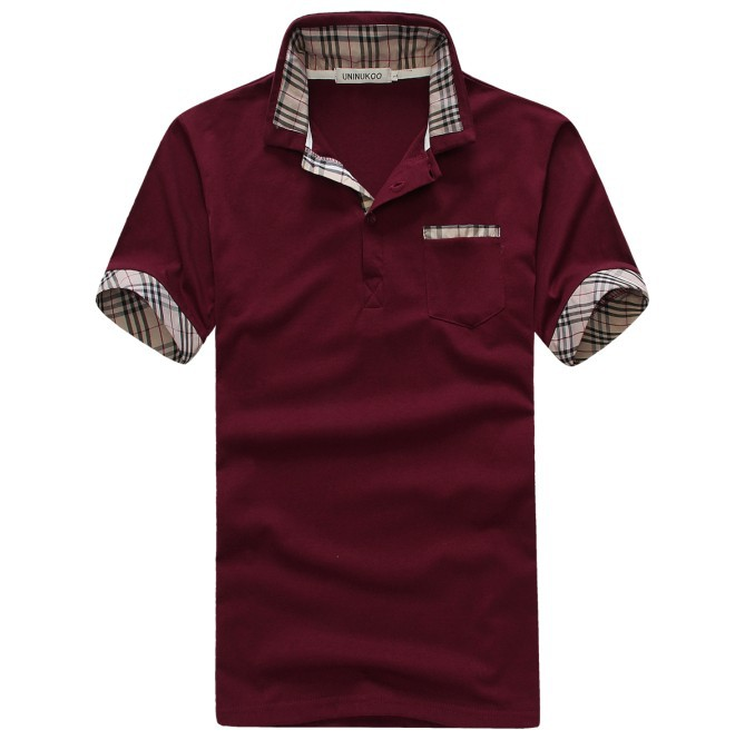 2015 special offer time limited free shipping short sleeve for Cheap polo collar shirts