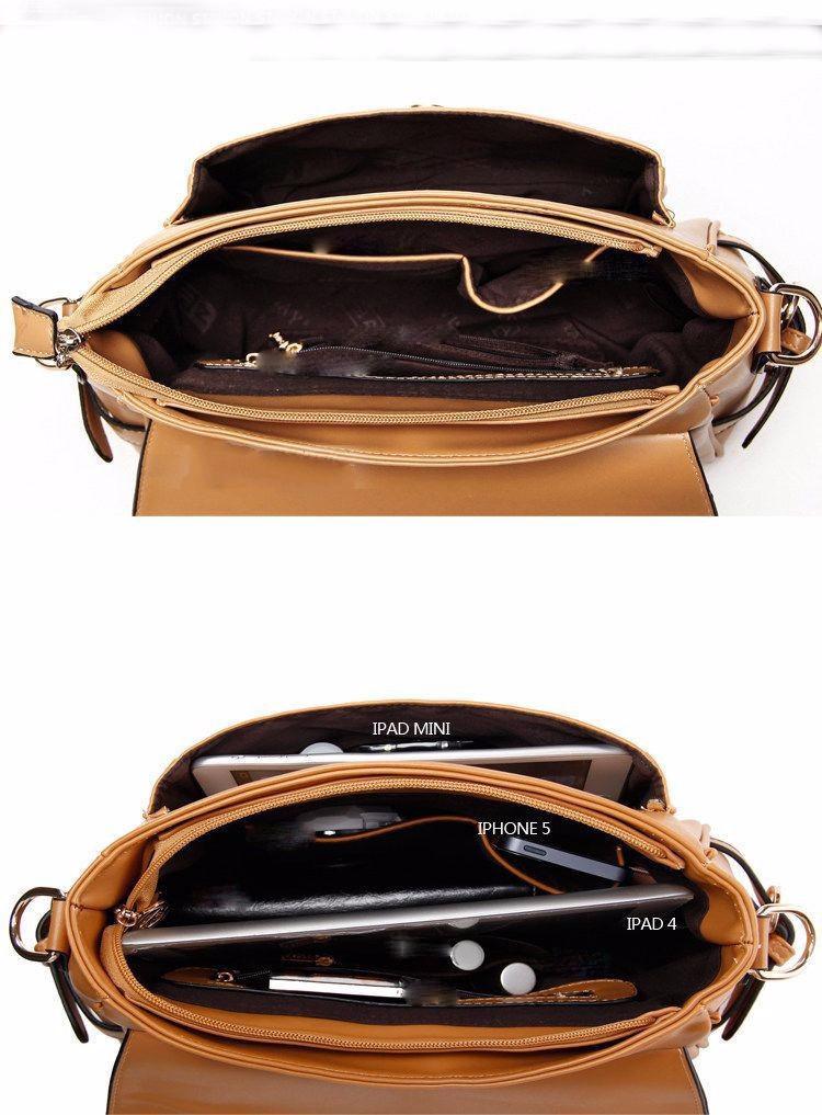 Vintage Korean Style Shoulder Bag (31*20*9cm)  2014 Fashion Handbag