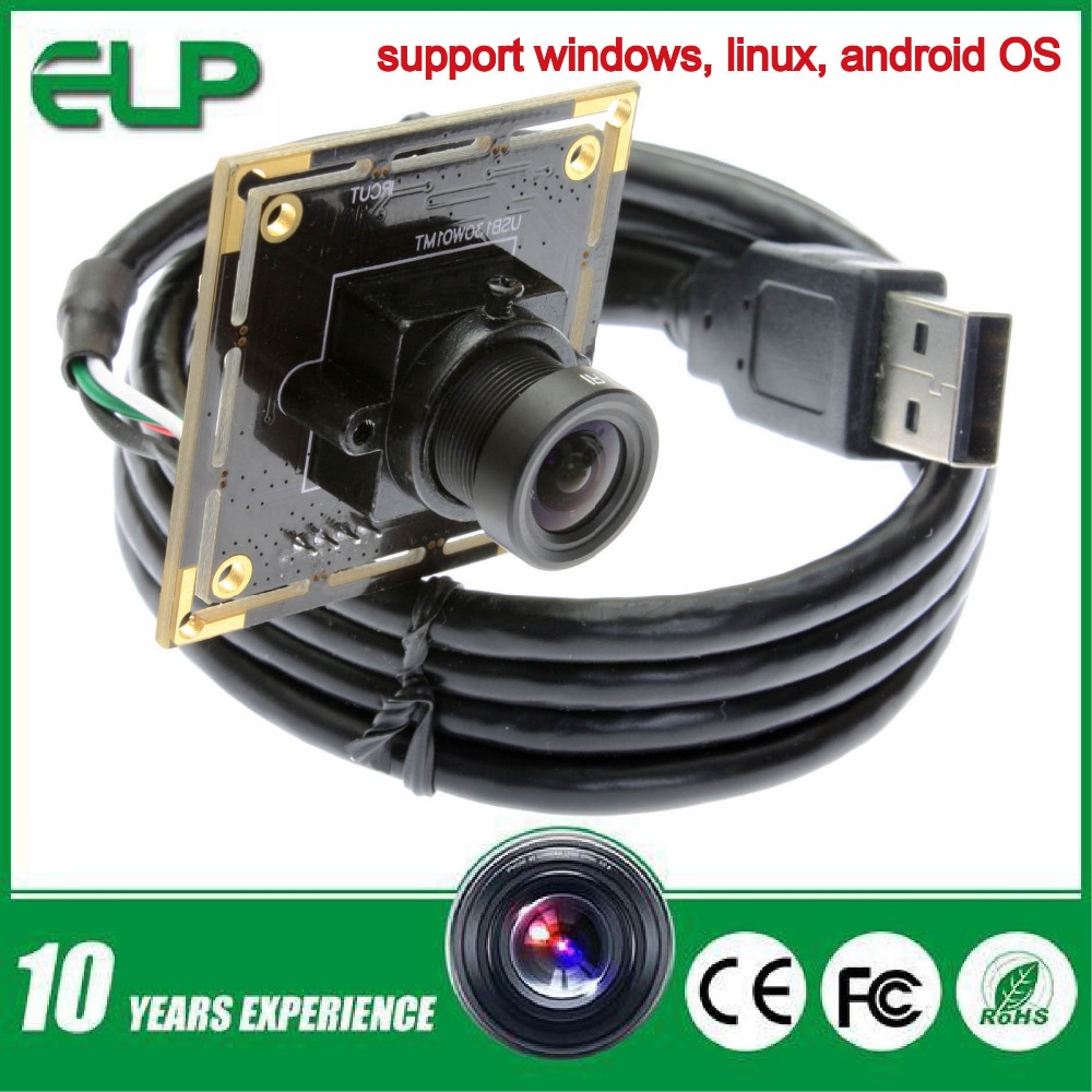 1.3mp low illumination 0.01lux cmos micro hd usb camera module android with 6mm lens ELP-USB130W01MT-L60