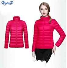 10 Color Quality Brand Ladies Long Spring Autumn Overcoat Women Ultra Light 90% White Duck Down Coat With Bag ladies' Jackets(China (Mainland))
