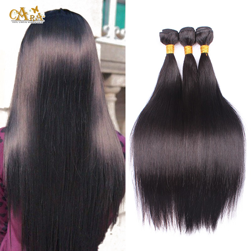 Brazilian Virgin Hair Straight 3 Bundles 7a Unprocessed Virgin Hair Brazilian Straight Hair Weave Bundles Rosa Hair Products