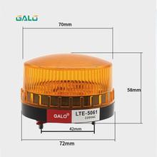 Высокое качество Водонепроницаемый 12 В ~ 220 В безопасно охранной сигнализации Strobe сигнал безопасности Предупреждение зеленый красный оранж...(China)