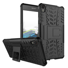 Buy Sony Xperia E5 Case Heavy Duty Armor Kickstand Shockproof Hybird Hard Soft Silicon Rugged Rubber Case Sony E5 F3311 for $2.71 in AliExpress store