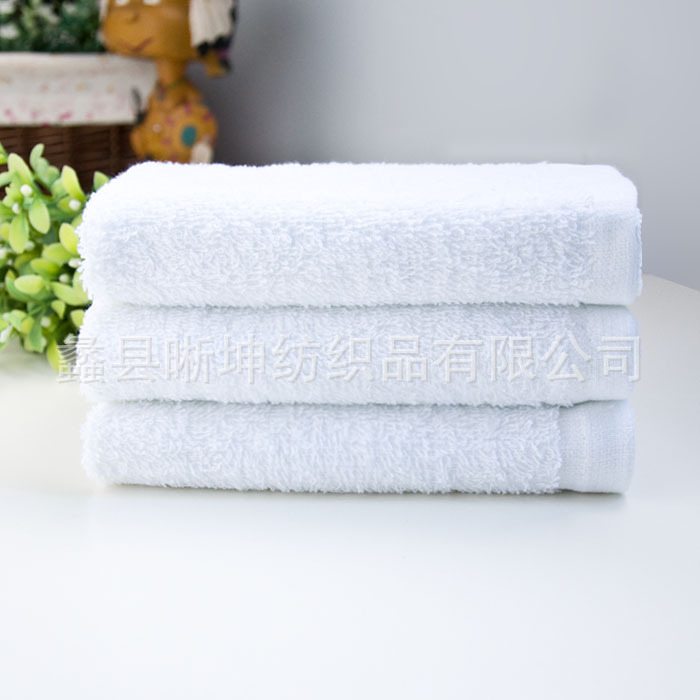White cotton disposable towel 100g white towel hotel bath towel Labor white towel manufacturers, wholesale(China (Mainland))