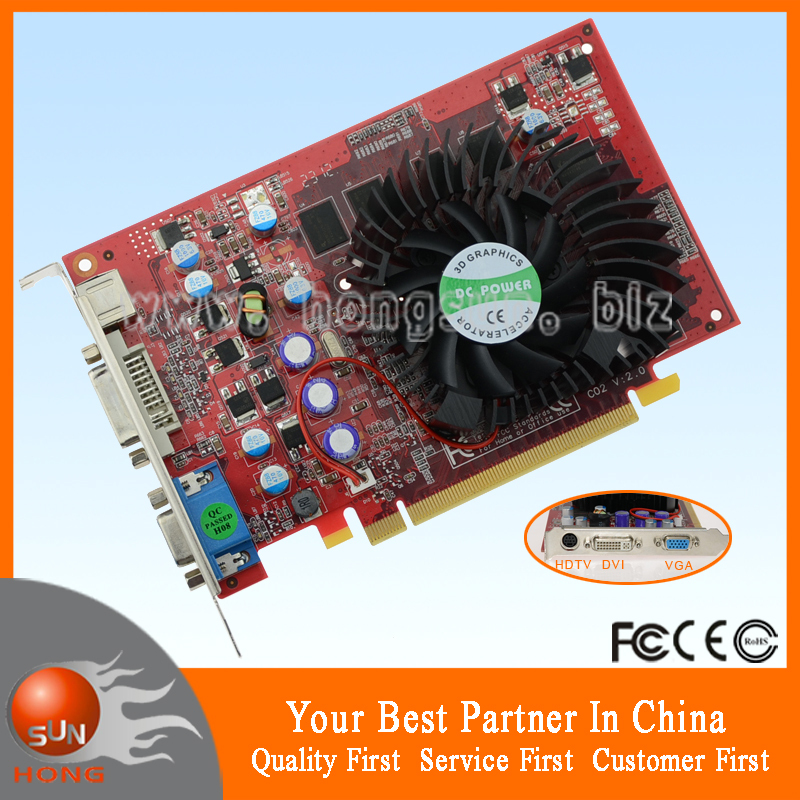 100% NEW NVIDIA GeForce 7600GS 512MB 128BIT DDR2 PCI-Express x16 3D Games Graphics Card Free Shipping with tracking number(China (Mainland))