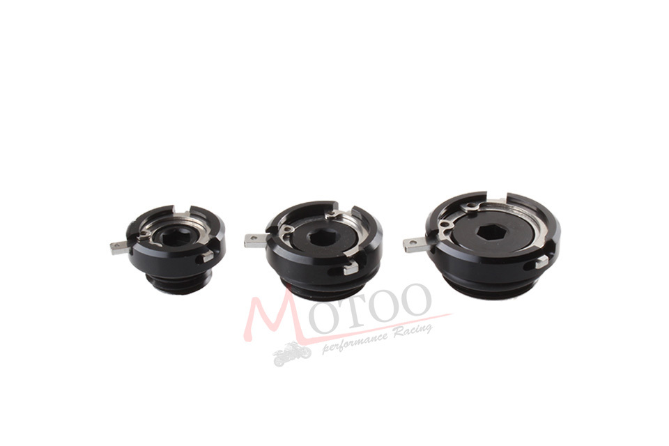 Motoo Motorcycle ENGINE OIL FILLER CAPS For yamaha honda Kawasaki Ducati M30x1 5 M27x3 M20x2 5