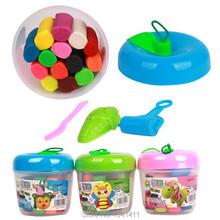 14 цветов / установить глупые шпатлевка пластилин детей малыша для Fimo полимерная глина образования мягкая игра тесто игрушка корабль DIY