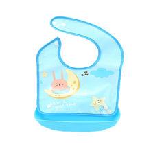 مريلة للأطفال حديثي الولادة من السيليكون مضادة للمياه مريلة لإطعام الطفل مريلة للأطفال الأولاد والبنات مريلة للأطفال(China)
