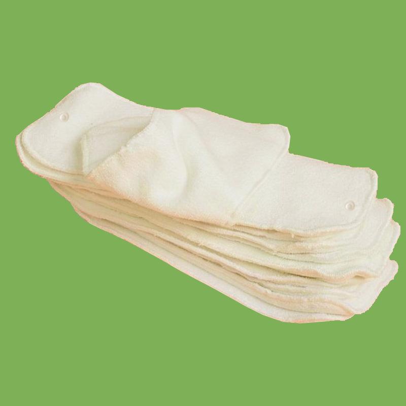 washable hemp+cotton baby diaper insert nappy nappies Original Fabric 3 3layers