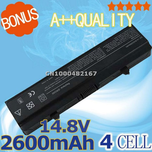 2600mah laptop battery For DELL Inspiron 1525 1526 1545 0RW240 0UK716 0WK371 0WK380 0WK381v 0WP193 0XR682 0XR693 0XR694 0XR697(China (Mainland))