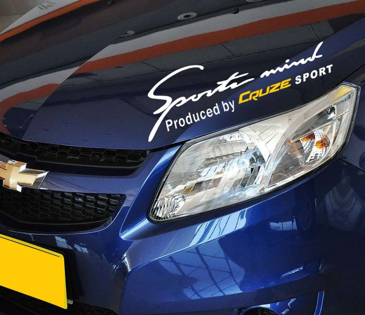 Cruze Sport T10 Car Styling 35*14cm DIY Auto toyota corolla vw golf 7 mazda cx 5 opel astra j opel astra j sticker 100% NEW :)(China (Mainland))