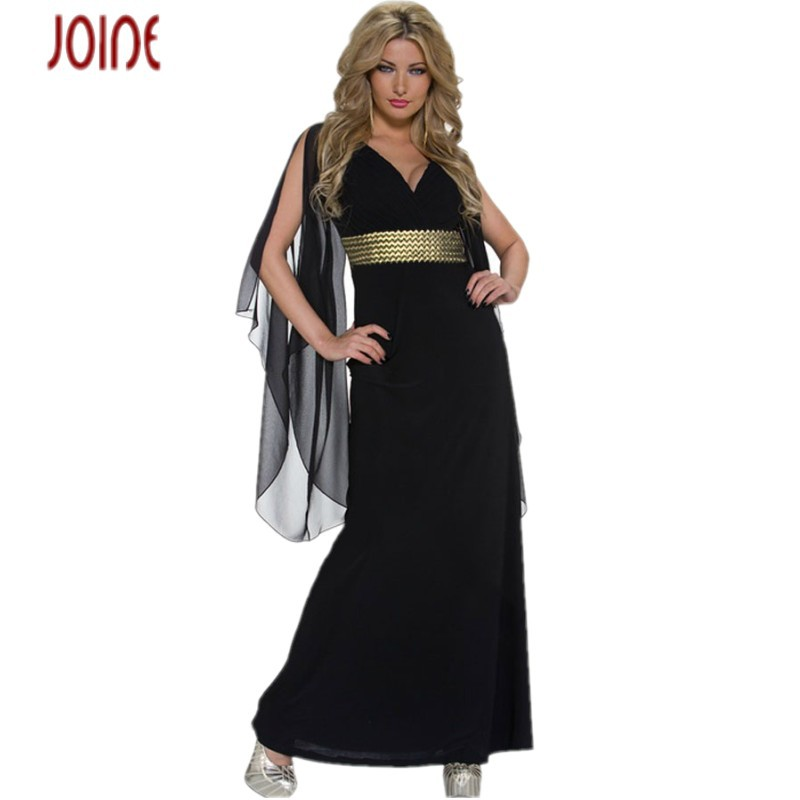 Vestidos de fiesta largos 2015 sexy club dresses women summer style black long dress chiffon sleeves maxi prom dress jersey(China (Mainland))