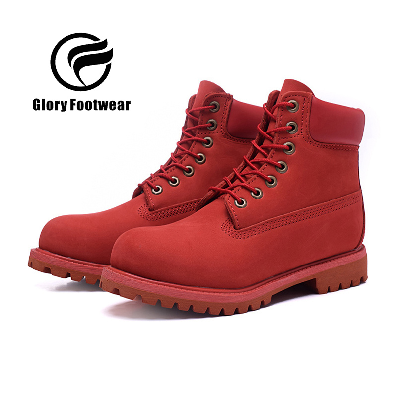 2016 Leather waterproof men  boots comfortable winter quality ankle red boot women warm snow boots shoes<br><br>Aliexpress