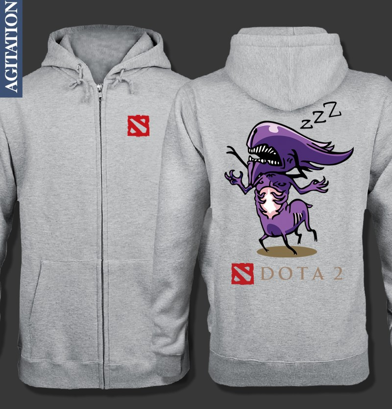 FREE SHIPPING Original Design Dota2 Dota 2 Atropos Bane Elemental BE Print Casual Fleece Hoody Hoodies Sweatshirts Coat.(China (Mainland))