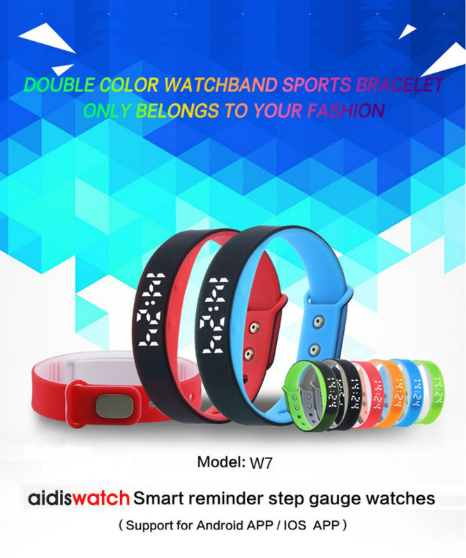 Smart Digital Wristwatches Multi-functional Sports wristband Male and Female Students Pedometer and calorie monitor watches