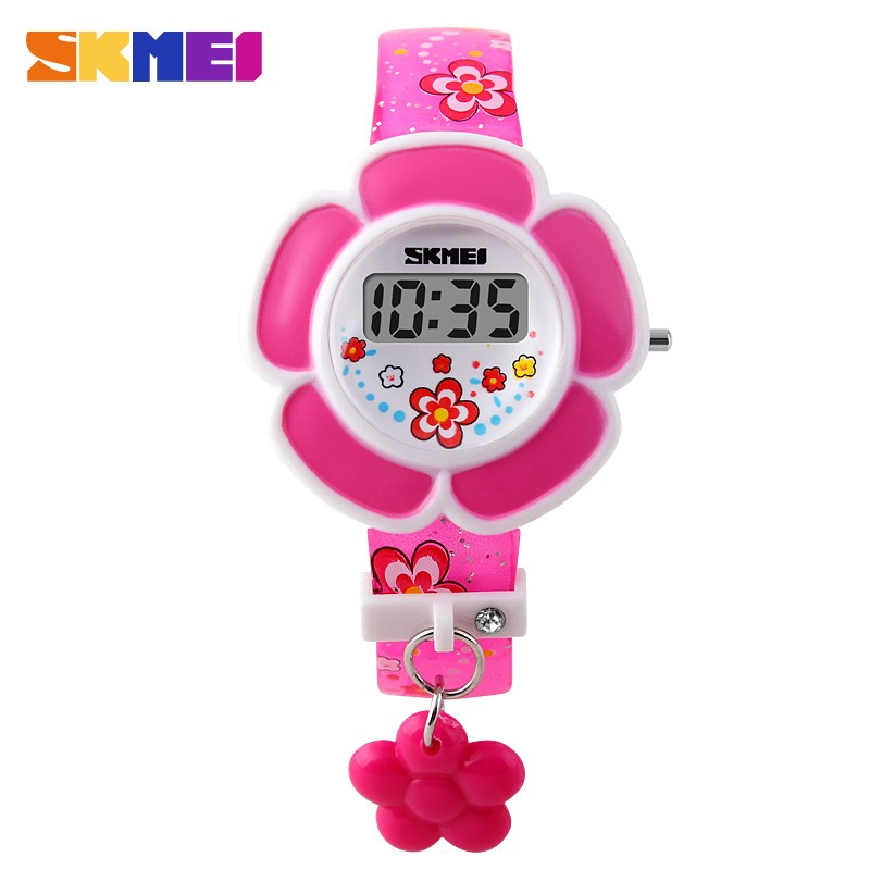 2016 New SKMEI Kids LED Digital Watch Children Girls Cartoon Fashion Casual Watches Wristwatches Relogio Feminino Reloj Relojes