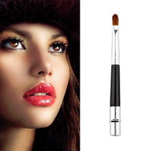 High Quality Portable Professional Lip Brush Cosmetic Make Up Beauty Tool Brushes New(China (Mainland))