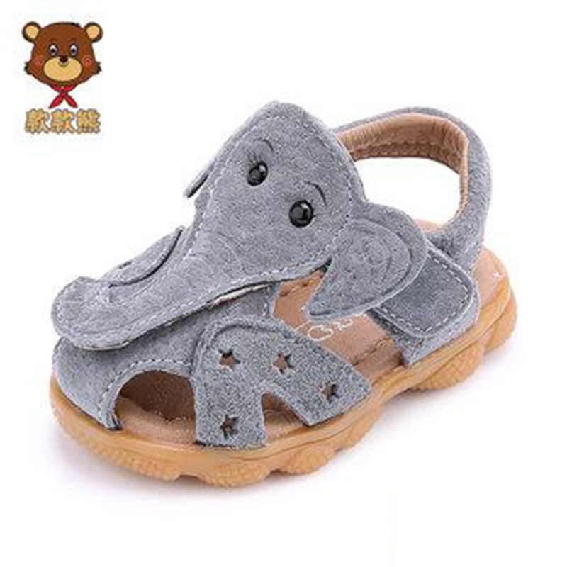 KKX Everyone Like Baby Shoes First Walkers Rubber Animal Prints Baby Elephant Shape Shoes(China (Mainland))