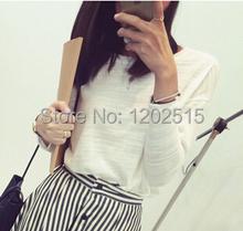 New 2015 Hitz Hong Kong styleloose knit wild T shirt hoody