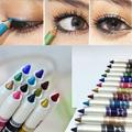 12pcs Set Liner Eye Shadow Glitter Eyeliner Pencil Waterproof Eyebrow Pen Eye Liner Eyeshadow Pen Set