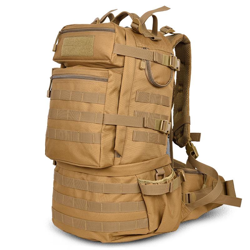 Outdoor Military Army Tactical Backpack 50L Camping Hiking Trekking Sport Backpacks Large-capacity Men Bag(China (Mainland))