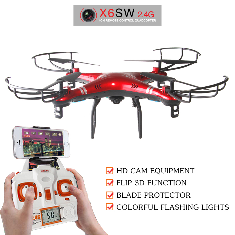 Гаджет  New Arrive X6sw WIFI Fpv Toys Camera rc helicopter drone quadcopter gopro professional drones with camera HD VS Drone None Игрушки и Хобби