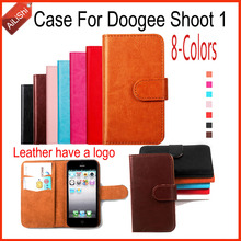 Buy AiLiShi Luxury PU Leather Case High Flip Doogee Shoot 1 Case Wallet Protective Cover Skin 8-Colors Stock for $4.49 in AliExpress store