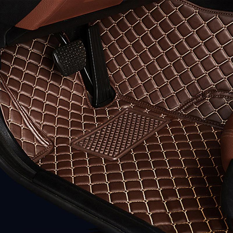 LUNDA Custom car floor mats peugeot models 307 206 308 407 207 406 408 301 3008 car accessories car styling floor mat