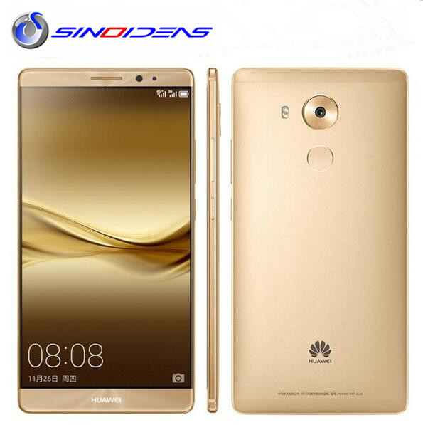 "Original Huawei Mate 8 4G LTE Mobile Phone Octa Core 3/4GB RAM 32/64/128GB ROM 6.0"" HD Android 6.0 Fingerprint ID SmartPhone"