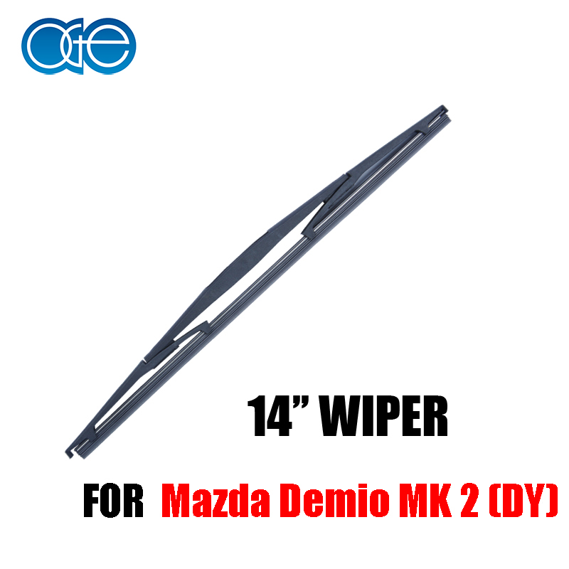 OGE Rear Windscreen Wiper Blade No Arm For Mazda Demio MK 2 (DY) 14''350mm,1piece,B1-35(China (Mainland))