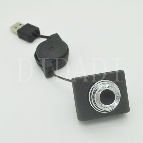 USB 2.0 50.0M Super Mini PC Camera HD Webcam Camera Web Cam for Laptop Free Shipping(China (Mainland))
