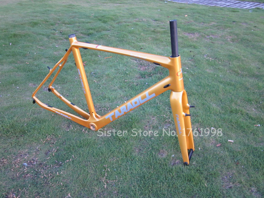 Factory Price Carbon Road Cyclocross Bicycle with Disc Brake Frame Carbon Road With Frok(China (Mainland))