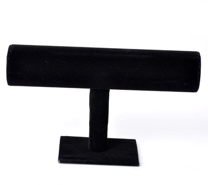 "1PC Black Velvet Bracelet/Bangle Jewelry Display Stand 23x14cm(9""x5 4/8"") Mr.Jewelry(China (Mainland))"