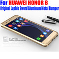 For HUAWEI HONOR 8 Case Original Luphie Luxury Sword Aluminum Metal Frame Cover Case for HONOR8