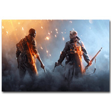 Buy Battlefield BF 1 4 Art Silk Fabric Poster Print 13x20 24x36inch Hot Game Soldier Pictures Children Room Wall Decor Gift 04 for $4.91 in AliExpress store
