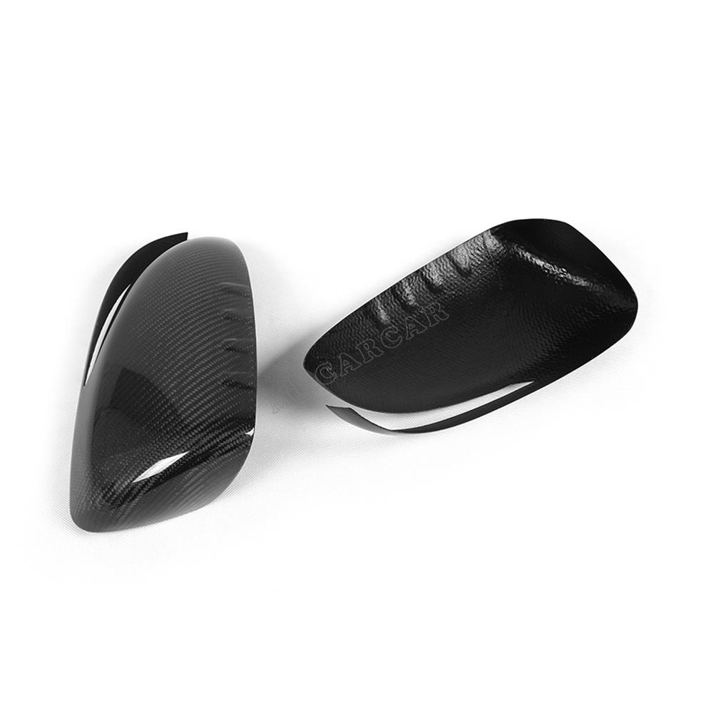 Carbon Fiber Rear View Mirror Covers Side Wings Caps Fit Kia Optima K5 2011 2012 2013 - MCARCAR KIT Store store
