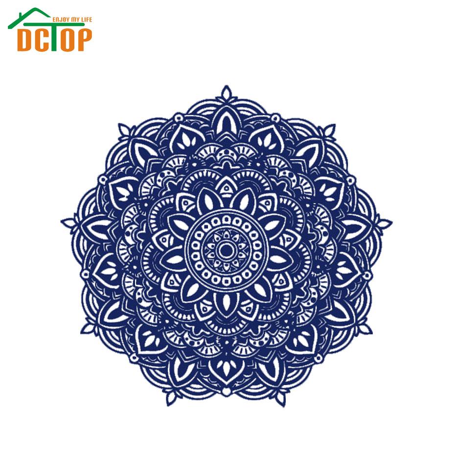 DCTOP Indian Pattern Wall Decals Art Vinyl Bedroom Studio