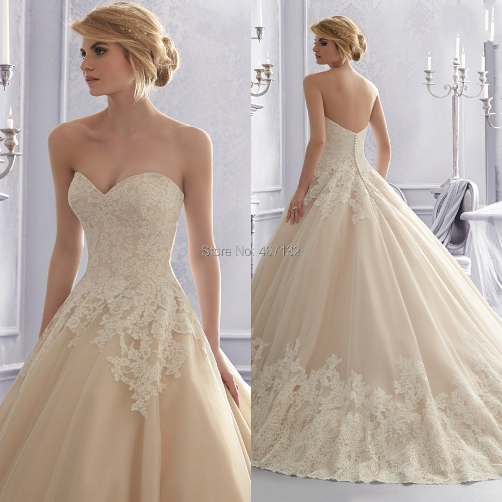 Champagne Ball Gown Wedding Dresses: Mature Ladies Fucking