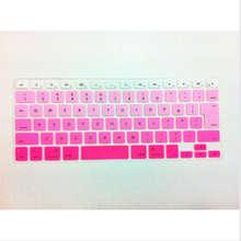 Rainbow JP keyboard Color English KeyboardX15 Cover Skin Protector For Apple MacBook Air Pro Retina 13 15 17 for Mac Air