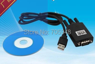 10pcs USB to RS232 Male COM Port Serial PDA 9Pin DB9 Serial converter Adapter GPS FTA Cable +cd driver(China (Mainland))