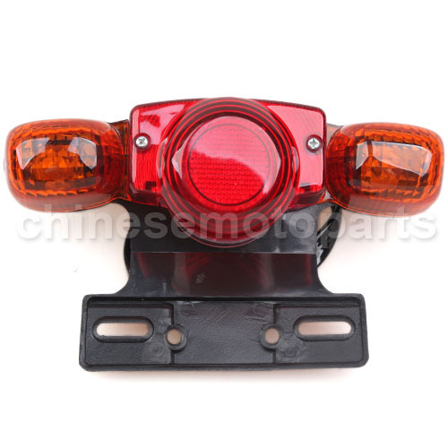 5 Wires Mini Chopper Tail Light Set with Mounting Bracket, Chinese Parts<br><br>Aliexpress