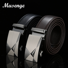 Buy MUSENGE Leather Belt Designer Belts Men High Mens Belts Ceinture Homme Luxe Marque Cinturones Hombre Cinto Luxury Riem for $8.90 in AliExpress store
