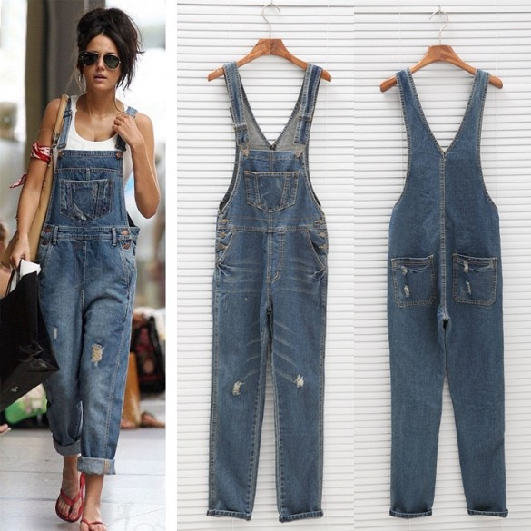 Compare Prices on Ladys Overall Jeans- Online Shopping/Buy Low ...